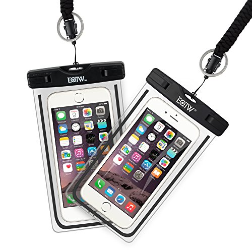 EOTW 2 Pack IPX8 Universal Waterproof Case Smartphone up to 6