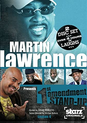 Martin Lawrence Presents 1st Amendment Stand-up: Season 4 (Martin Lawrence Comedy Dvd)