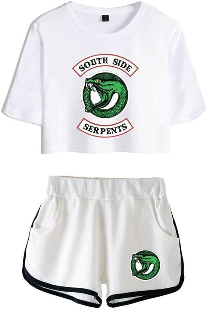 T-shirt serie tv Riverdale South Side Serpents maglia maglietta uomo bambino