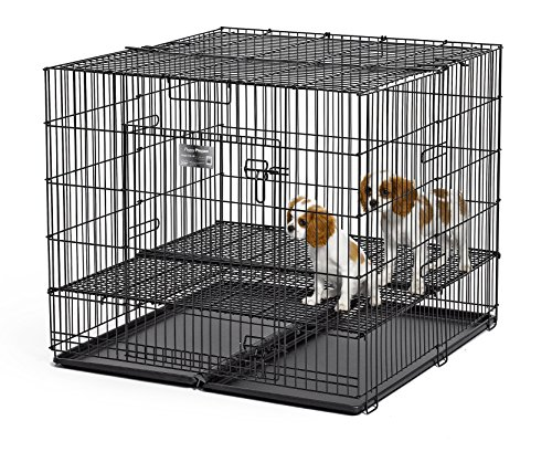 MidWest Puppy Playpen with 1/2 Inch Mesh Floor Grid, 23