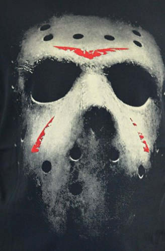 T 100 Faces Friday shirt Uomo Acqua Cotone Ad Mask Serigrafia The 13th wFZqyI8Z