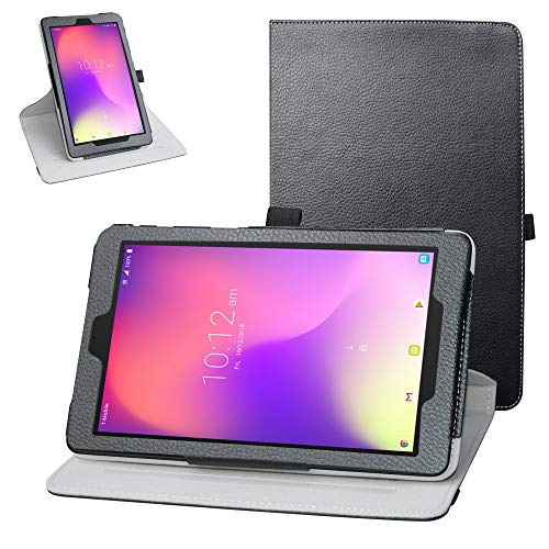 Bige Case for Alcatel Joy Tab Rotating Case,360 Degree Rotary Stand with Cute Pattern Cover for T-Mobile Alcatel Joy Tab…