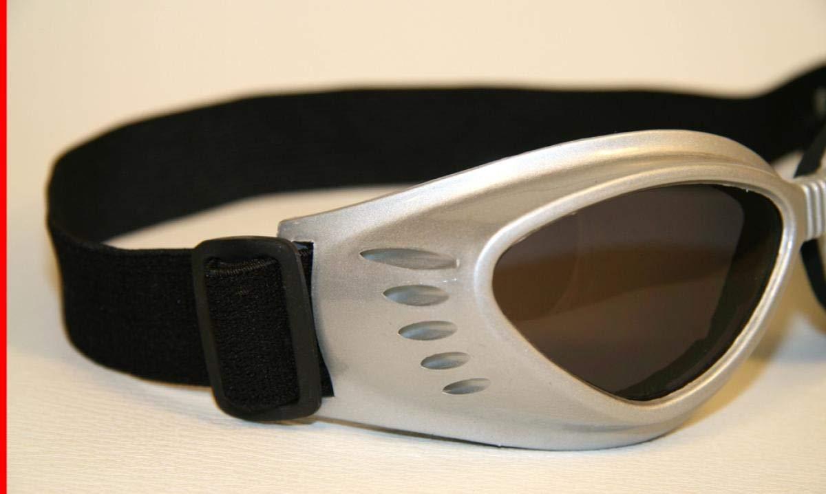 SBR Kautschuk smoke-get/önte Gl/äser schwarzer Rahmen TC Tech Motorradbrille schwarz