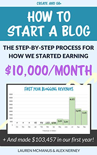 How to Start a Blog - The Step-by-Step Process of How We Started Earning $10,000/Month: How We Made $103,457.98 in Our First Year Blogging!