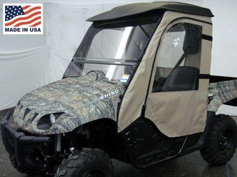 Rhino Cab Enclosure (GCL UTV Yamaha Rhino Door/Rear Window Combo Enclosure. YAMRHI-DRW)
