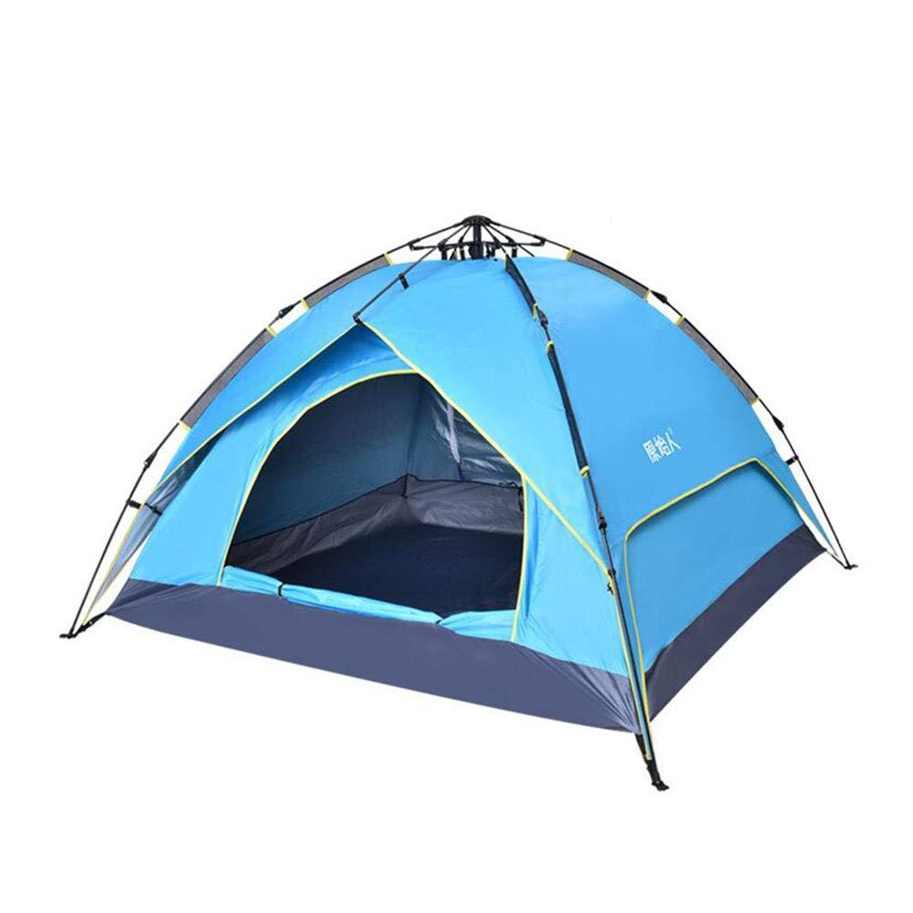 Z-P 3-4 Personnes Tente Extérieure Automatique Rapide Pop-up Tente Protection UV Étanche Extérieure Deux Couches Tente Tente De Camping