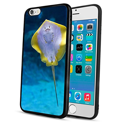 Stingray Out Cut (Penard Stingray iPhone 6s Plus 6 Plus Phone Case, Phone Case for iPhone 6s Plus 6 Plus with Soft Flexible TPU Durable Shockproof Bumper Protective Cover)
