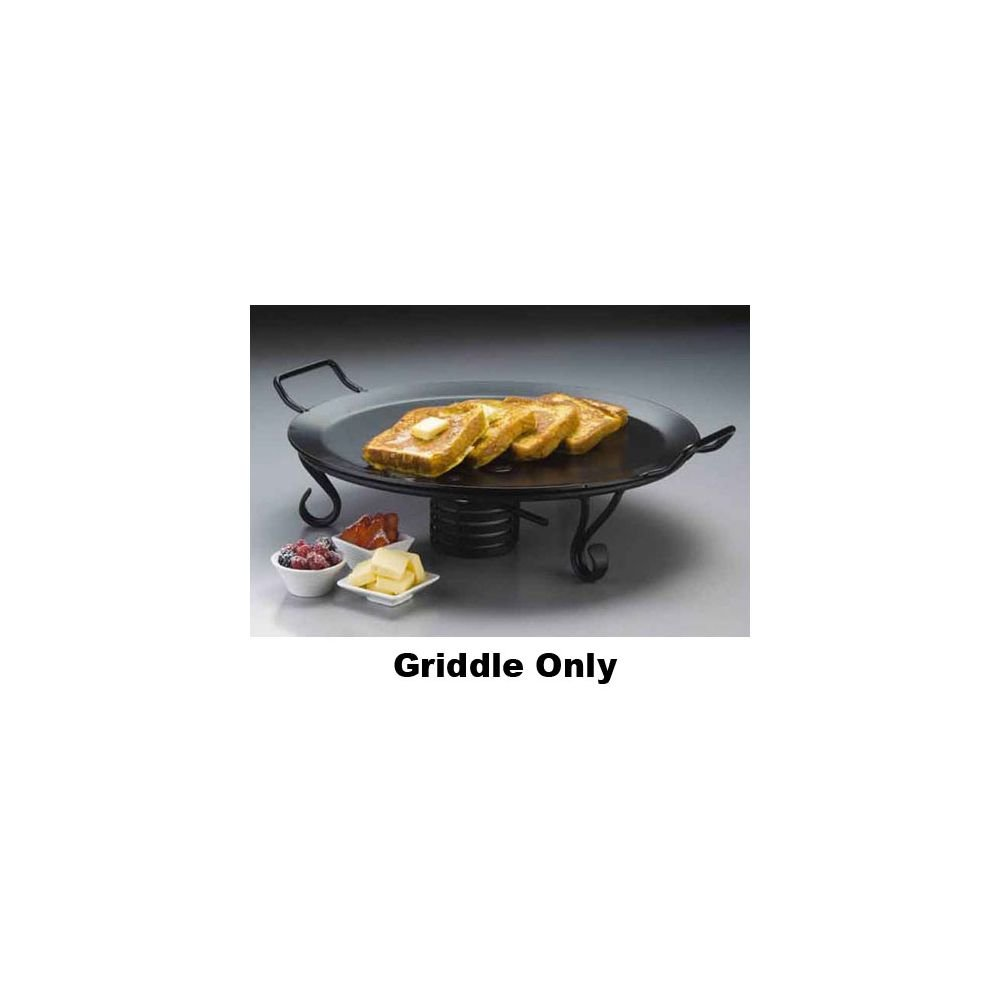 American Metalcraft GS81 Griddles and Stands, 18'' Length x 18'' Width, Black
