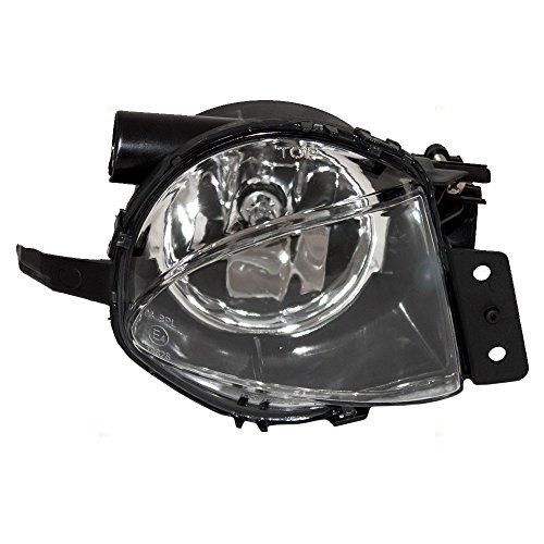 (Passengers Fog Light Lamp Lens Replacement for BMW 3 Siers E90 E91 63176948374)