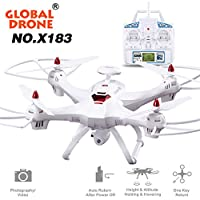 Kanzd Global Drone X183 With 5GHz WiFi FPV 1080P Camera GPS Brushless Quadcopter from Kanzd