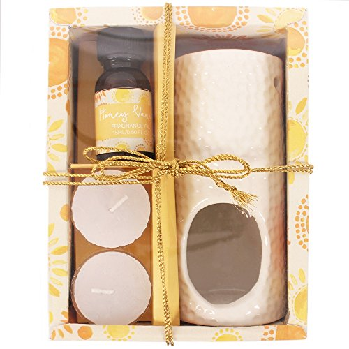 Happiness Oil Burner Gift Set by Something different