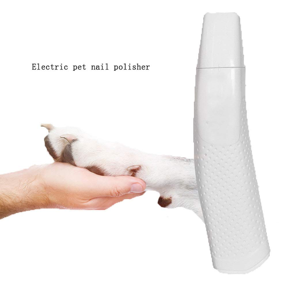 ZNZN Professional Dog Nail Grinders, Pet Electric Nail Polisher for Large Medium, Small Dogs and Cats,Pet Grooming Tool, Safe and Pain-Free