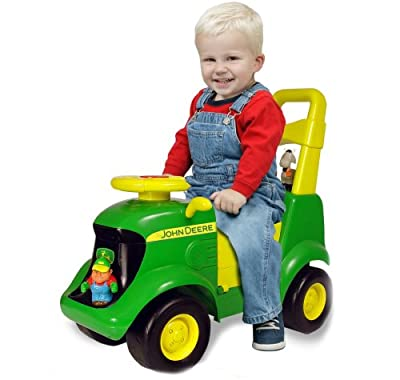 John Deere Sit-n-scoot Activity Tractor by Learning Curve