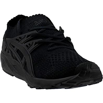 15e9d977c014 ASICS Tiger Men s Gel-Kayano Trainer Knit Black Black 7.5 D US D (