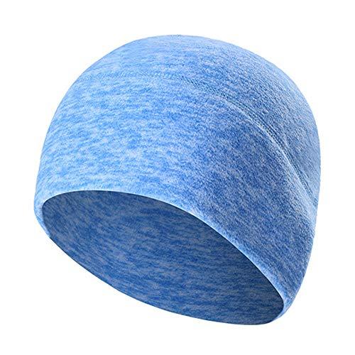 del Brown Invierno Tapa Bufanda Y Gorro Gorra Hombre Blue Elástico para Invierno Holgado De Grueso Craneo Mujer qXgpdw4nd