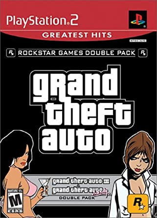 Grand Theft Auto Double Pack: Grand Theft Auto III / Grand Theft Auto Vice City - PlayStation 2 by Rockstar Games: Amazon.es: Videojuegos