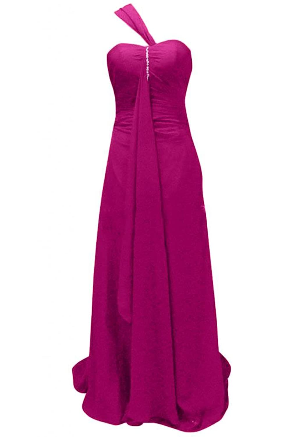 Sunvary Formal Halter Bodice Open Back Party Bridesmaid Dresses Short