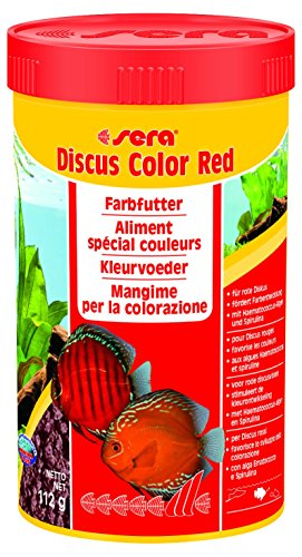 Sera 334 Discus Color Red 3.9 oz 250 ml Pet Food, One ()