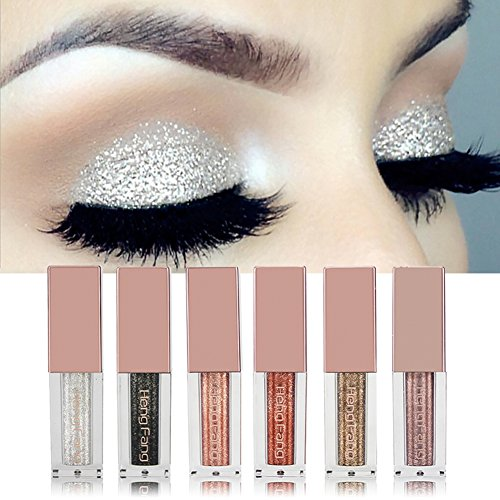 New Brand Shiny Diamond Liquid Water Eye Shadow Pearlescent High Gloss Powder Long-lasting Shine Eye Shadow Liquid Cosmetics Beneficial To The Sperm Beauty Essentials