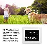[Remote Control] Digital Day Calendar Clock 12