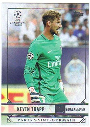 2016-17 2017 Topps UEFA Champions League Showcase Soccer #141 Kevin Trapp Paris Saint-Germain