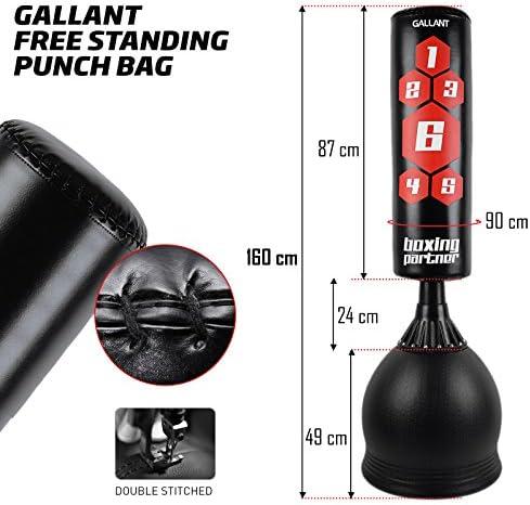 Gallant - Soporte para Saco de Boxeo de pie (5,5ft), Resistente ...