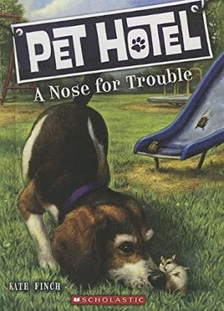 book cover of A Nose for Trouble
