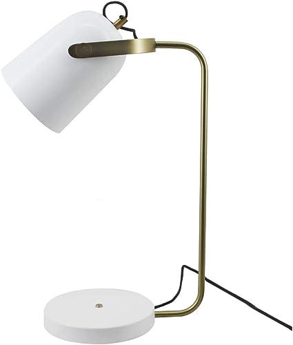 Kayoom Lámpara de mesa lámpara de Escritorio Lámpara para leer lámpara de Noche Lectura Blanco: Amazon.es: Iluminación