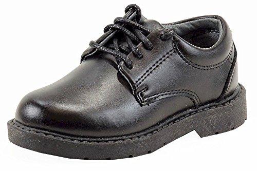 School Issue Scholar 5200 Uniform Shoe (Toddler/Little Kid/Big Kid),Black Leather,2 W US Little Kid Black Kid Leather Footwear