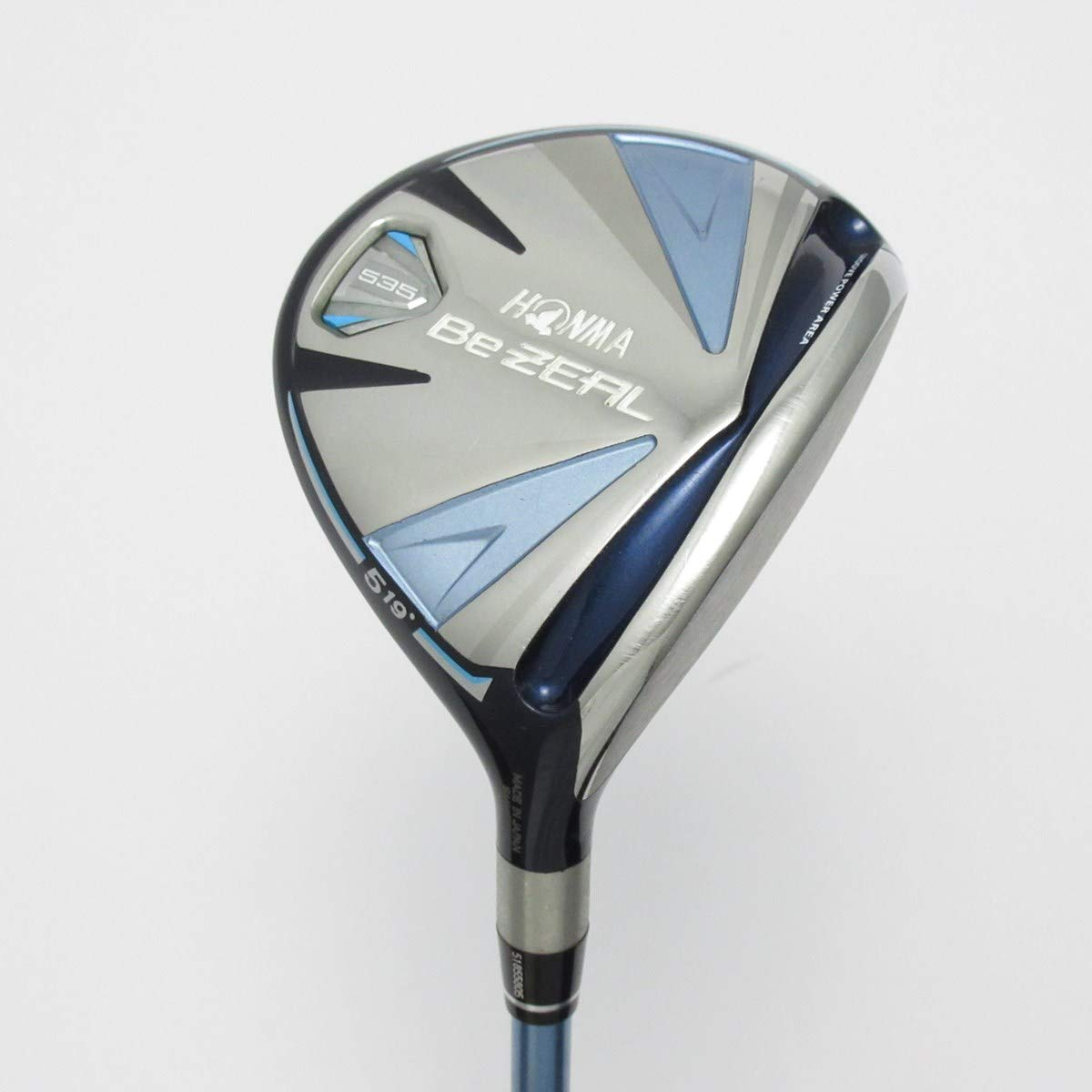 【中古】本間ゴルフ Be ZEAL ビジール 535 フェアウェイウッド VIZARD for Be ZEAL レディス 【5W】 B07QXCPJWK  A
