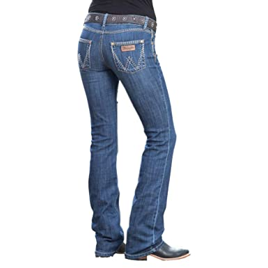 40f075c5 Wrangler Womens Retro Sadie Low Rise Bootcut Jeans at Amazon Women's Jeans  store