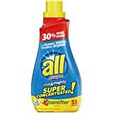 all Small & Mighty Super Concentrated Liquid Laundry Detergent, Stainlifter, 40 Fluid Ounces, 53 Loads