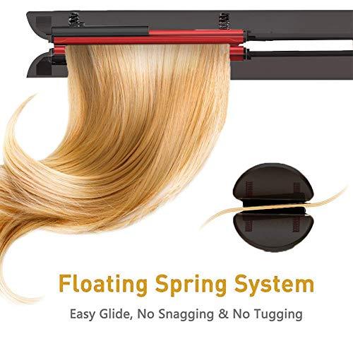 Amazon.com: Plancha de pelo y rizador 2 en 1 profesional ...