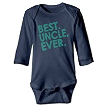 Newborn Clothes Valentine's Day Best Uncle Ever Husband Long Sleeve Cool