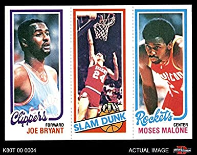 best sneakers 0df0f de3ba Amazon.com: 1980 Topps 217/263 / 107 Joe Bryant/Bobby Jones ...
