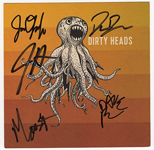 "Dirty Heads Autographed""Dirty Heads"" CD [CD for self-titled album - signed on cover by all five]"