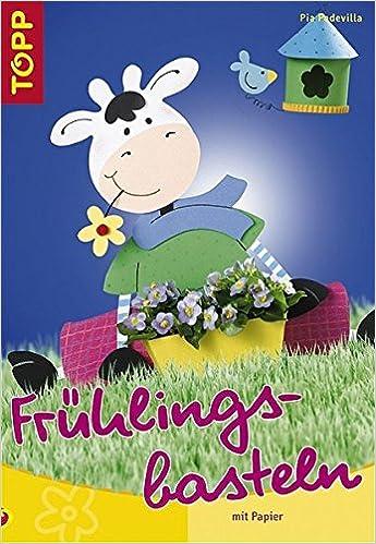 Frühlingsbasteln Mit Papier Amazonde Pia Pedevilla Bücher