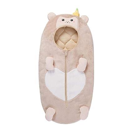 Wovemster Qué hay de Baby Thick Saco de Dormir Acolchado con Estilo de otoño e Invierno