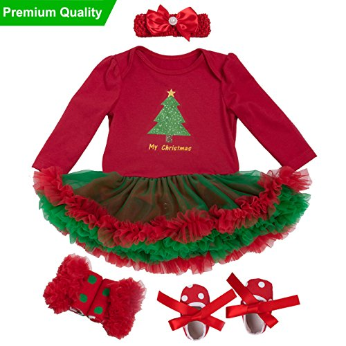 Baby girl Christmas tutu