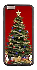 Generic Custom Picture Christmas Tree 2 TPU Rubber Snap On Skin Cover Back Cell Phone Case For iPhone 6 Plus
