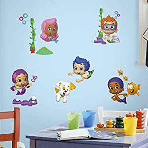 RoomMates Bubble Guppies Peel And Stick Wall Decals – RMK2404SCS