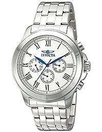 Invicta Men's 21657 Specialty Analog Display Swiss Quartz Silver-Tone Watch