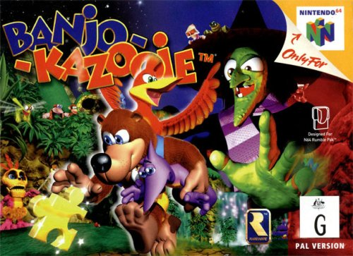 Image result for banjo kazooie n64