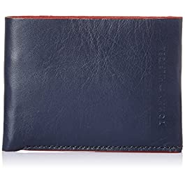 Tommy Hilfiger Lexington Navy and Red Men's Wallet (TH/LEXIN08SLF/NVY+RED)