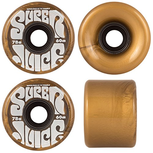 OJ III Skateboard Cruiser Wheels Super Juice Gold 60mm - Gold Skateboard Wheels