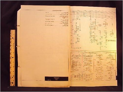 1973 73 Ford Maverick Electrical Wiring Diagrams Manual Original Ford Motor Company Amazon Com Books