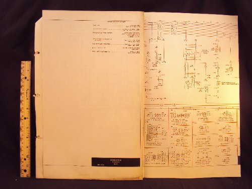 1973 73 FORD Maverick Electrical Wiring Diagrams Manual ~Original: Ford  Motor Company: Amazon.com: BooksAmazon.com