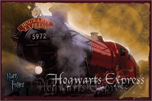Póster Harry Potter - Hogwarts Express - cartel económico ...