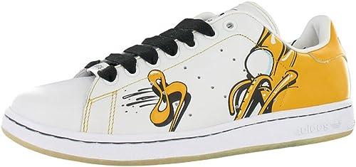 adidas stan smith blanco dorado