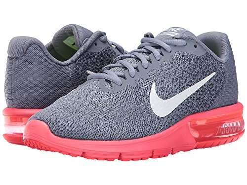 NIKE Men's Air Max Sequent 2 Running Shoe B00AO0INY6 128-140|Red